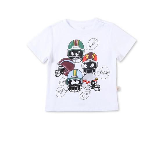 チャックル ヘルメット プリント Tシャツ