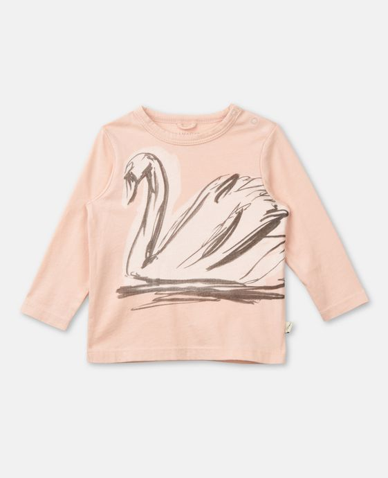 Georgie Swan Print T-shirt