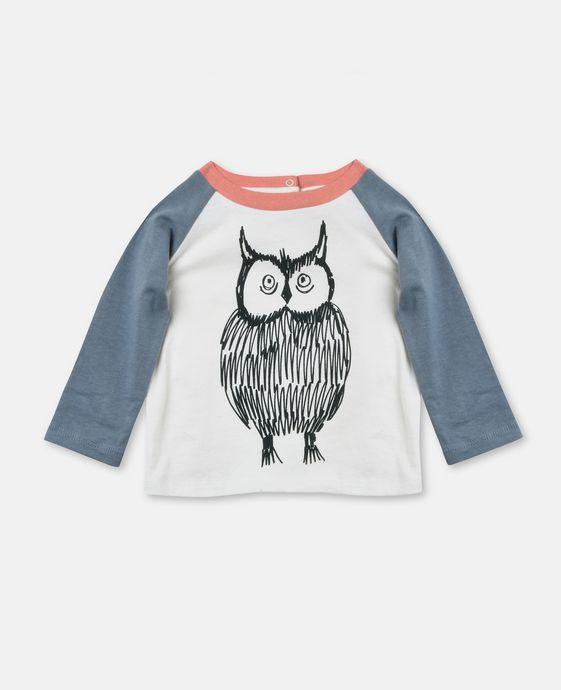 Izzy Owl Print Top
