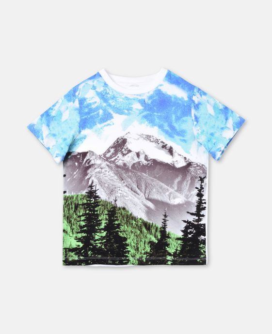 Arrow Mountain Print T-shirt