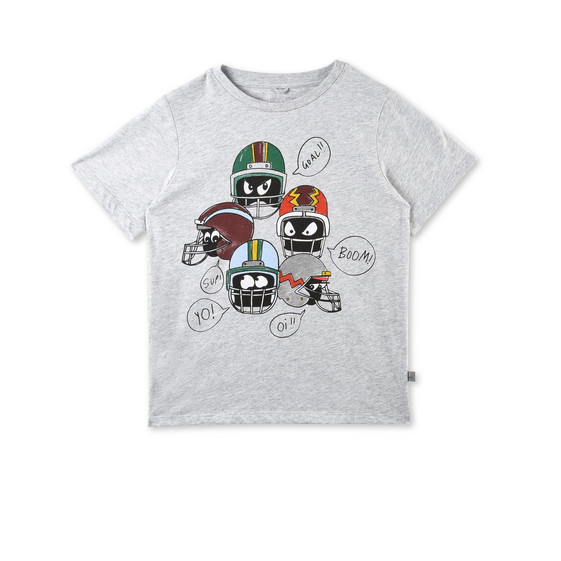 Arrow Helmet Print T-shirt