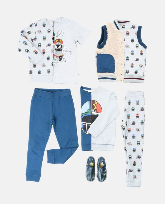 STELLA McCARTNEY KIDS T-shirt Arrow avec imprimé casques T-Shirts U q