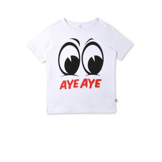 T-shirt Arlo avec imprimé «Aye Aye»