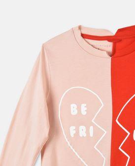 T-shirt Bella avec imprimé «Best Friend»