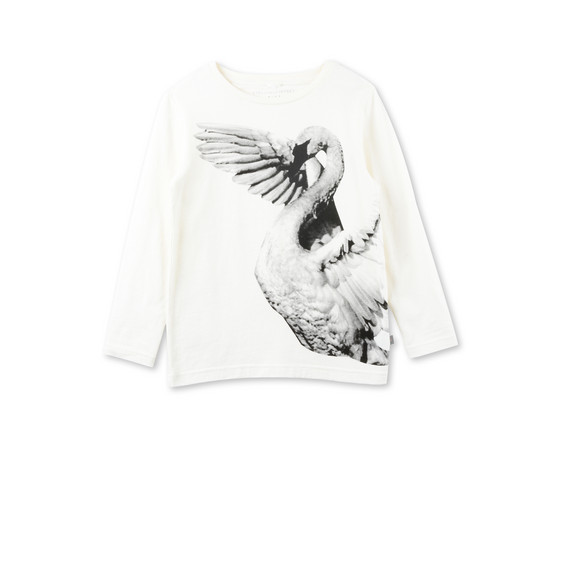ベラ スワン プリント Tシャツ
