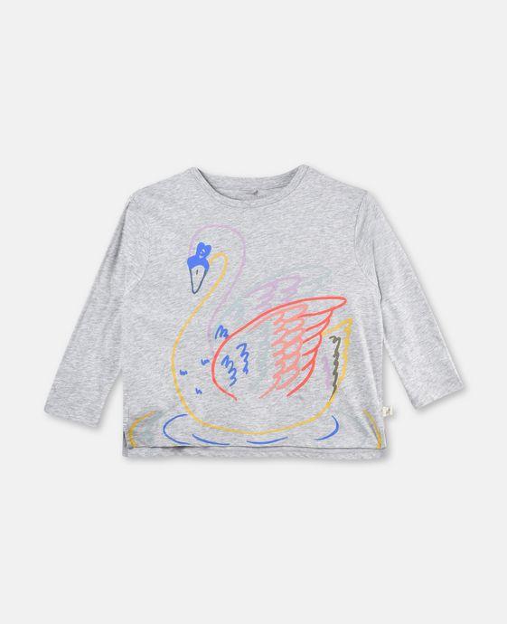 Farah Swan Print T-shirt