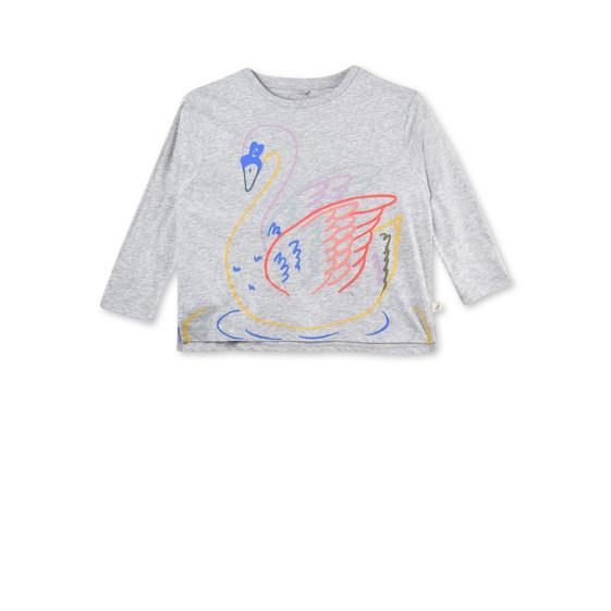 ファラー スワン プリント Tシャツ