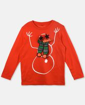 Barley Red XMAS Top