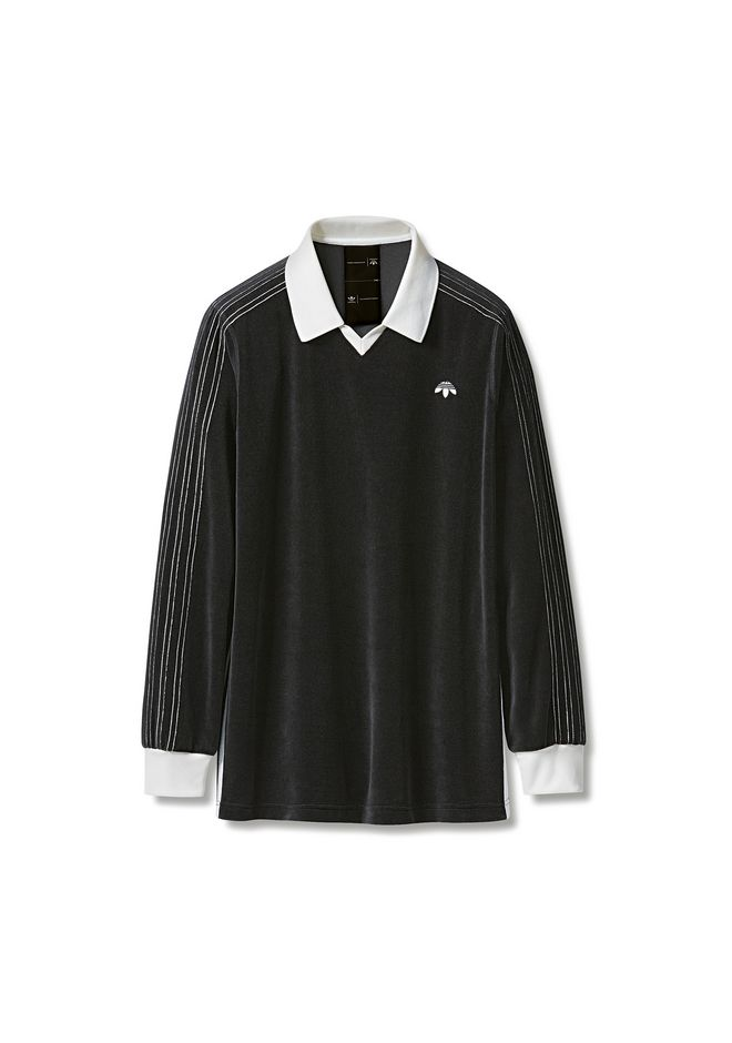 ALEXANDER WANG adidasoriginals-aw ADIDAS ORIGINALS BY AW VELOUR LONG SLEEVE