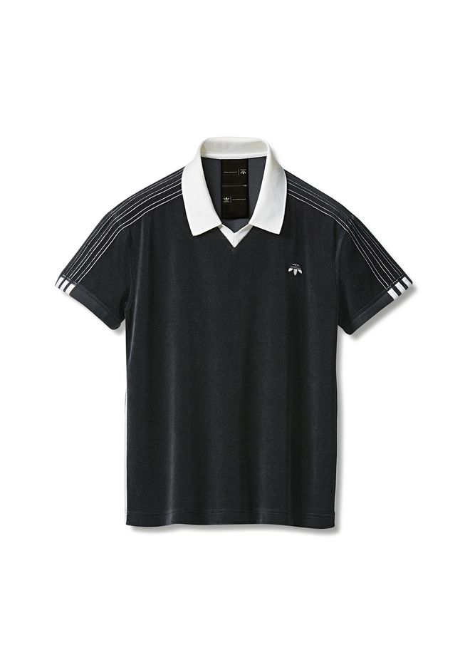 ALEXANDER WANG adidasoriginals-aw ADIDAS ORIGINALS BY AW VELOUR POLO