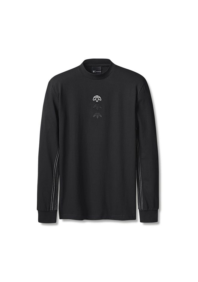 ALEXANDER WANG adidasoriginals-aw ADIDAS ORIGINALS BY AW LOGO LONG SLEEVE