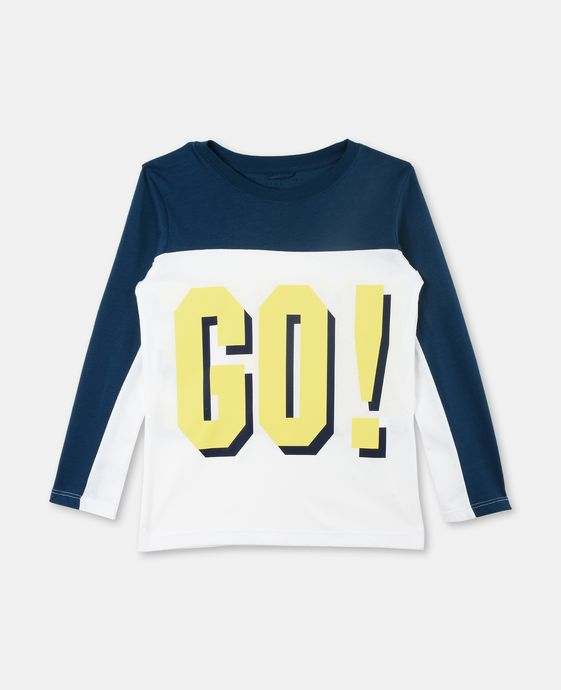 T-Shirt Harp con Stampa Go Hike