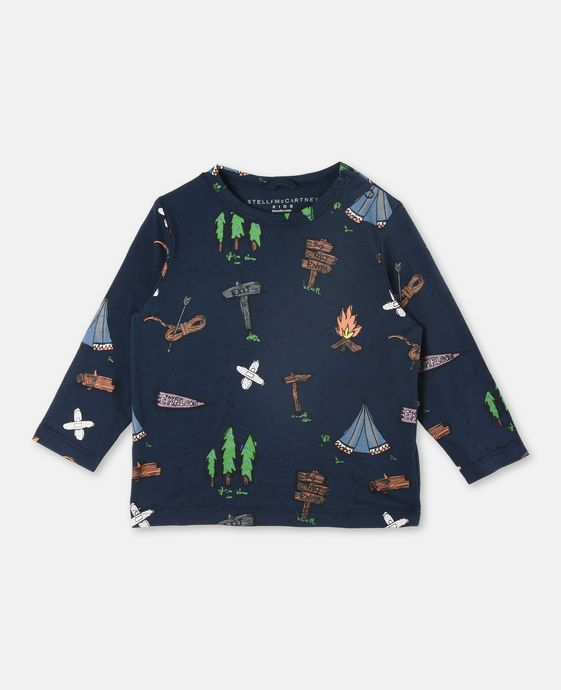 Georgie Explorer Print T-shirt