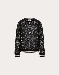 VALENTINO Sweatshirt D Heavy Lace sweatshirt f