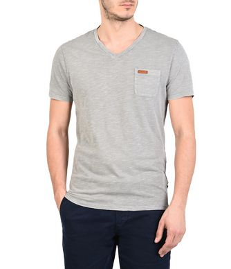 NAPAPIJRI SERIN MAN SHORT SLEEVE T-SHIRT,GREY