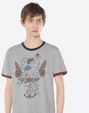 VALENTINO UOMO NV3MG09I3LE 080 T-shirt U a