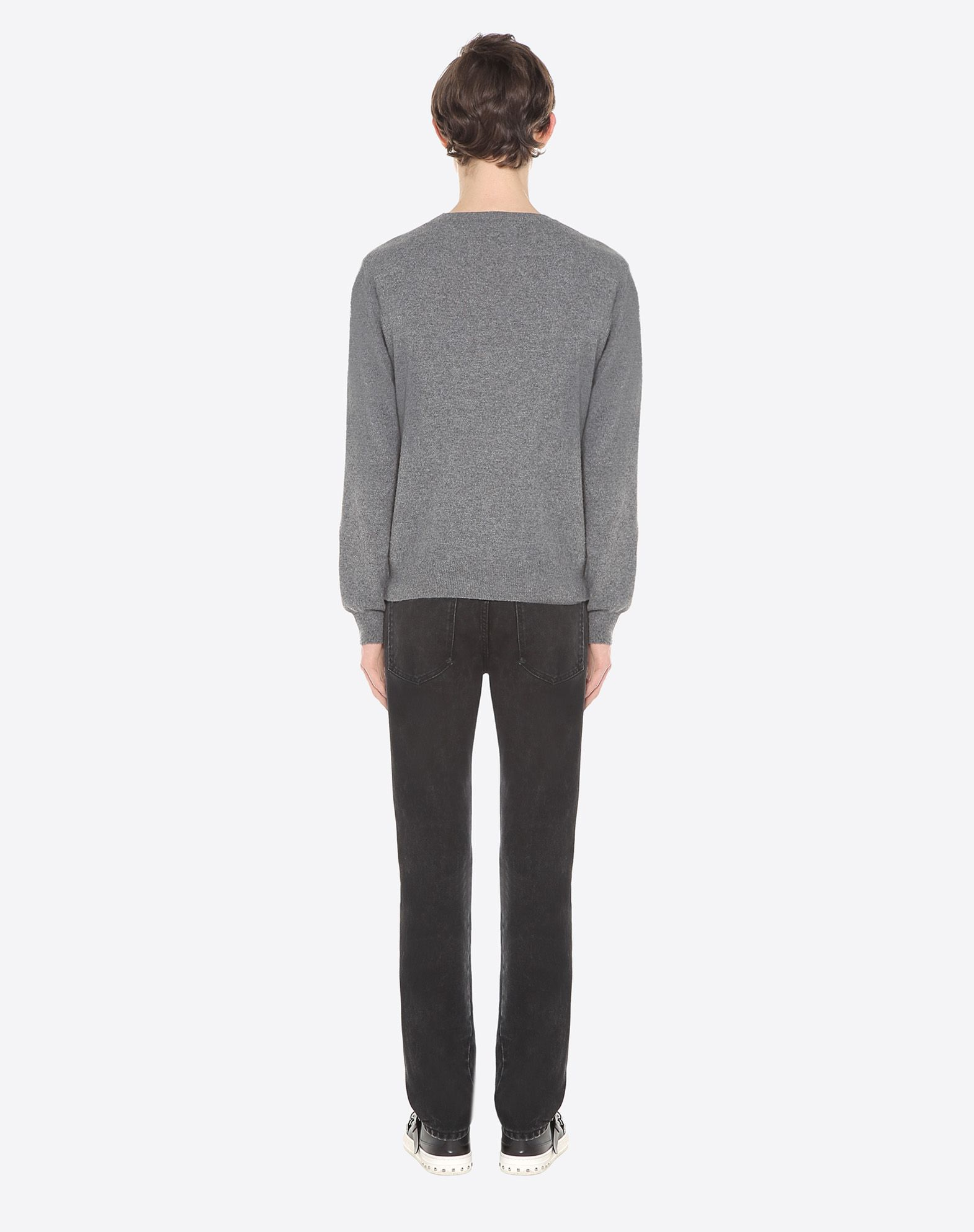 VALENTINO Lightweight knitted Round collar Long sleeves  12027439xx