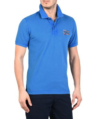 NAPAPIJRI EROL MAN SHORT SLEEVE POLO,BLUE