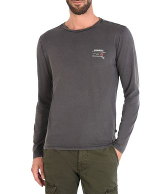 NAPAPIJRI SOAR MAN LONG SLEEVE T-SHIRT,STEEL GREY