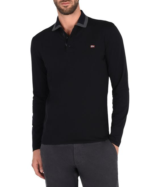 NAPAPIJRI ELIM Long sleeve polo U f