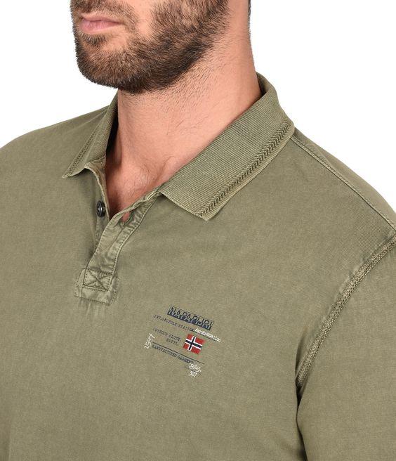 egegik men Men egegik polo shirt by napapijri in light blue cotton fabric - button fastenin more set price alert  .