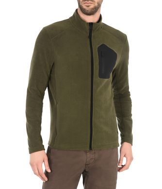 NAPAPIJRI TAMBO FULL ZIP MAN FLEECE,MILITARY GREEN