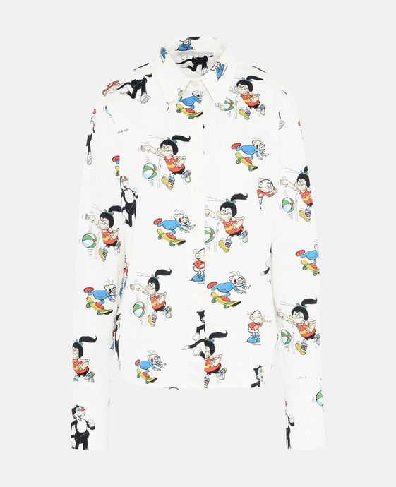 The Dandy Print Organic Cotton Didi Shirt