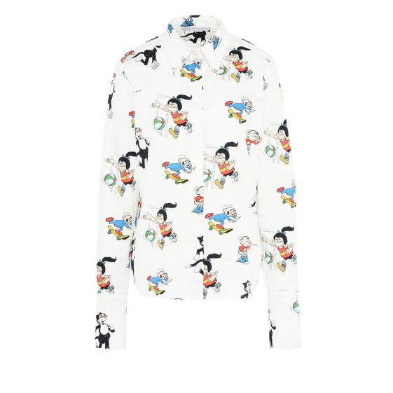The Dandy Print Organic Cotton Didi Shirt