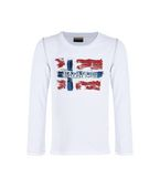 NAPAPIJRI T-shirt manche longue U K SACHS LONG SLLEVES KID f