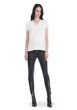 T by ALEXANDER WANG SUPERFINE JERSEY V-NECK TEE 上衣 Adult 8_n_f