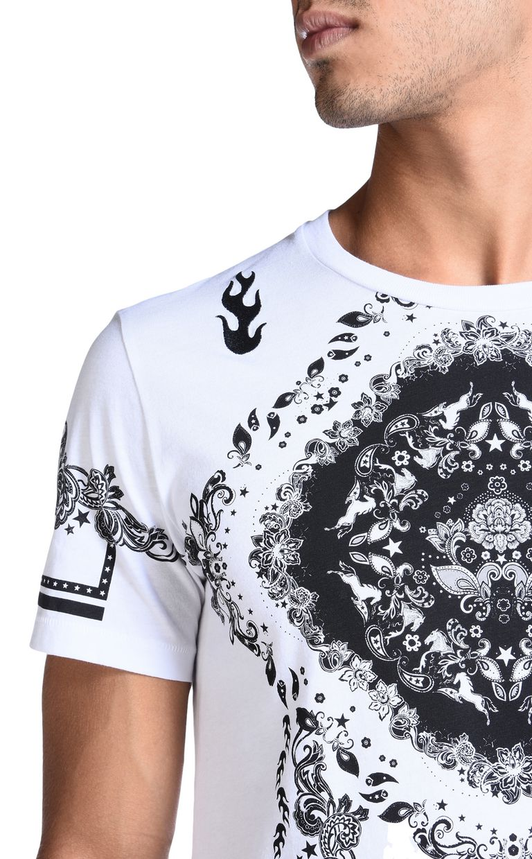 JUST CAVALLI Short sleeve t-shirt Man e