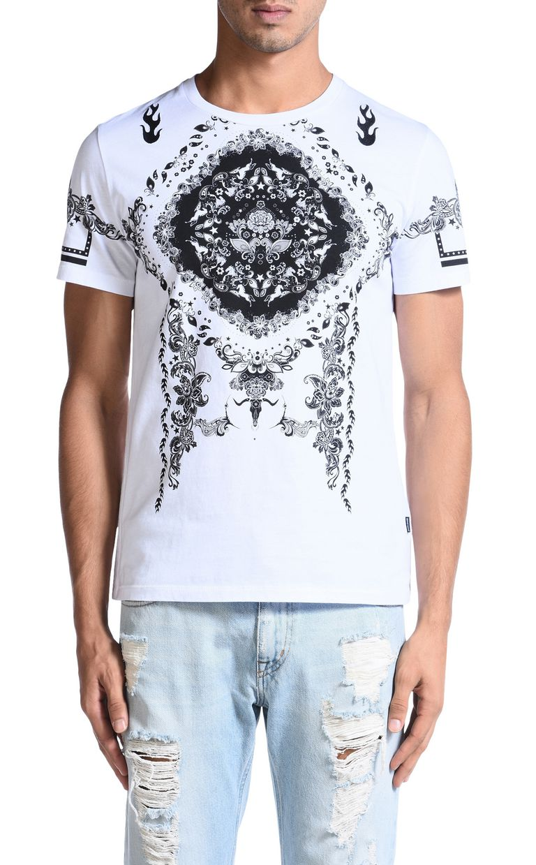 JUST CAVALLI Short sleeve t-shirt Man f