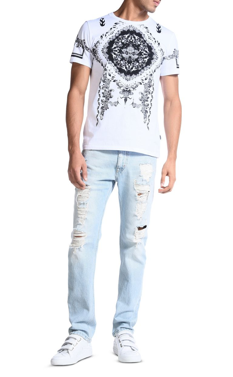 JUST CAVALLI Short sleeve t-shirt Man r