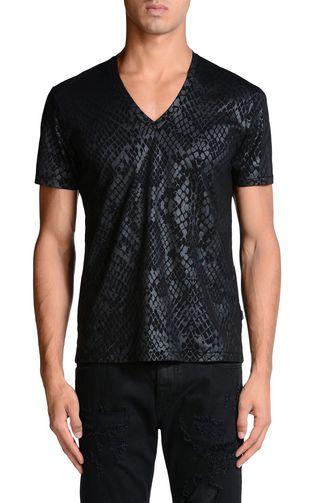 JUST CAVALLI Short sleeve t-shirt U f
