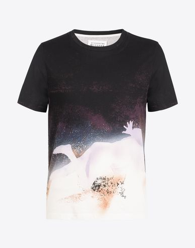 MAISON MARGIELA Short sleeve t-shirt U Printed cotton T-shirt f