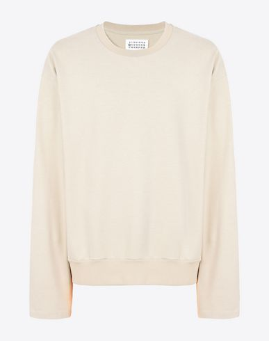 MAISON MARGIELA Long sleeve t-shirt U Loose-fit cotton sweatshirt f