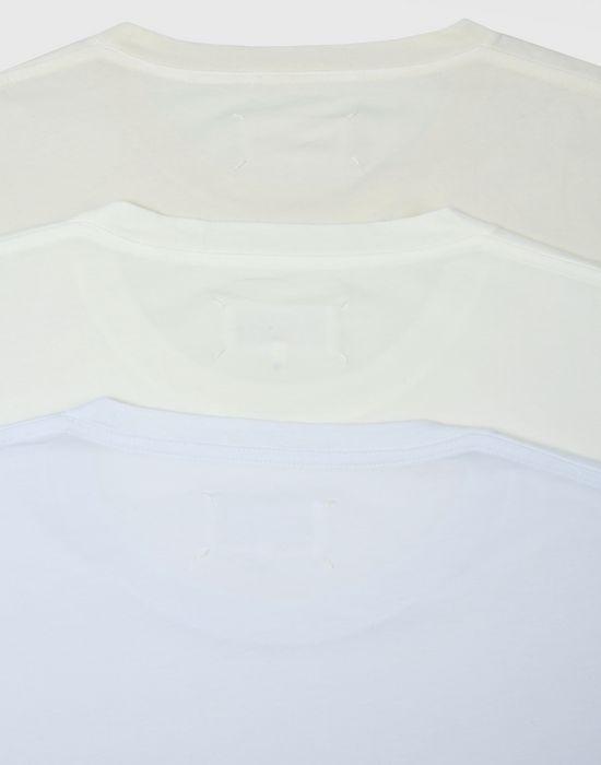 MAISON MARGIELA Pack of 3 T-shirts Short sleeve t-shirt [*** pickupInStoreShippingNotGuaranteed_info ***] a