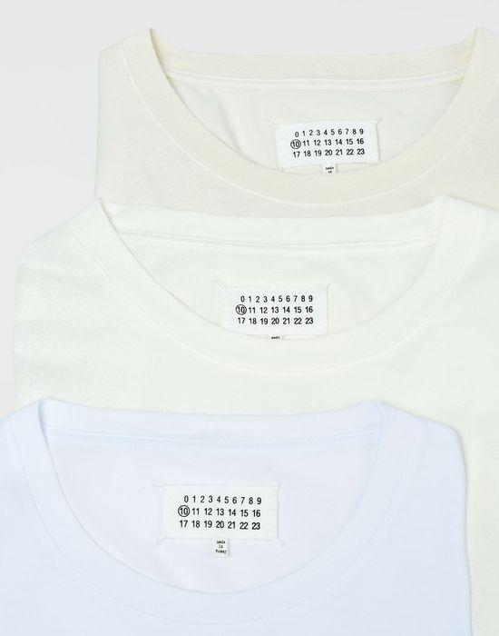 MAISON MARGIELA Pack of 3 T-shirts Short sleeve t-shirt [*** pickupInStoreShippingNotGuaranteed_info ***] d