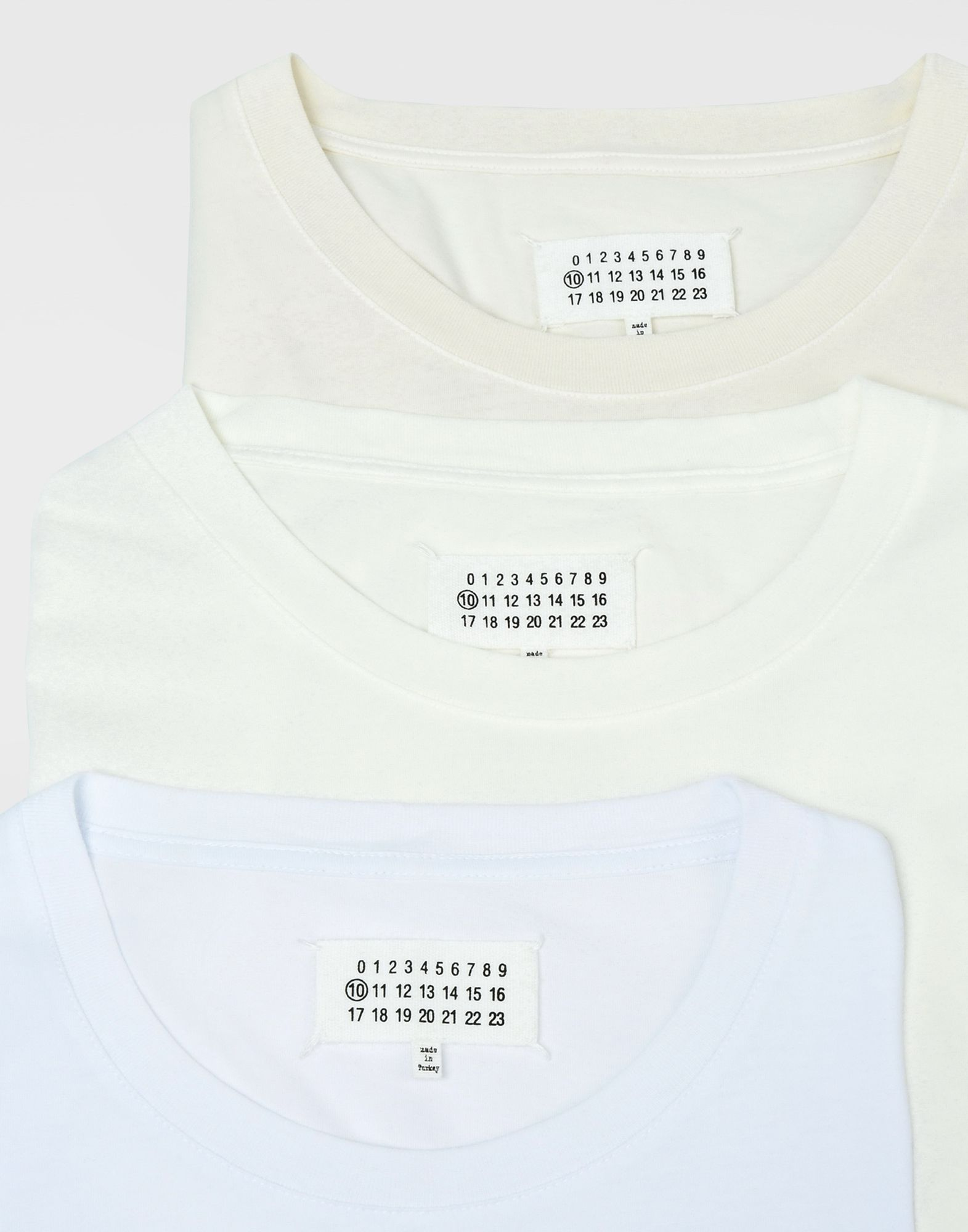 MAISON MARGIELA Pack of 3 T-shirts Short sleeve t-shirt Man d
