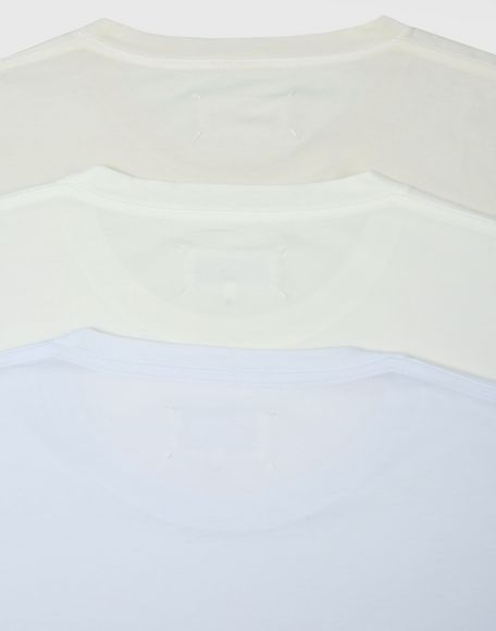 MAISON MARGIELA Pack of 3 T-shirts Short sleeve t-shirt Man a