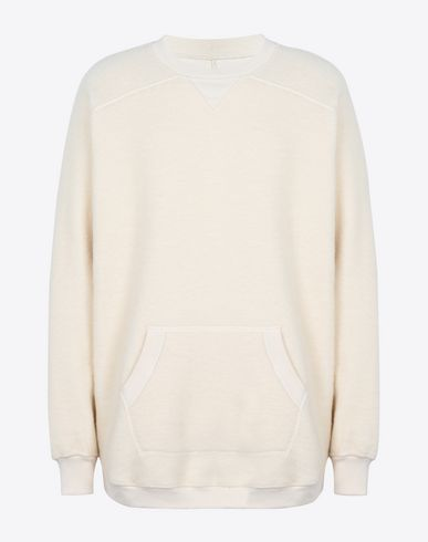 MAISON MARGIELA Sweatshirt U Oversized sweatshirt with kangaroo pocket f