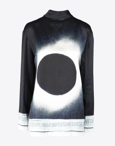 MAISON MARGIELA Top D Eclipse print top f