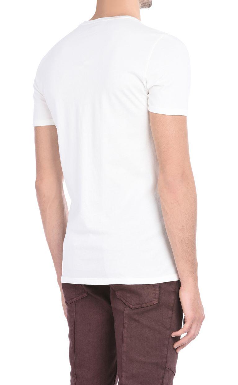 JUST CAVALLI Short-sleeved T-shirt with print design Short sleeve t-shirt Man d
