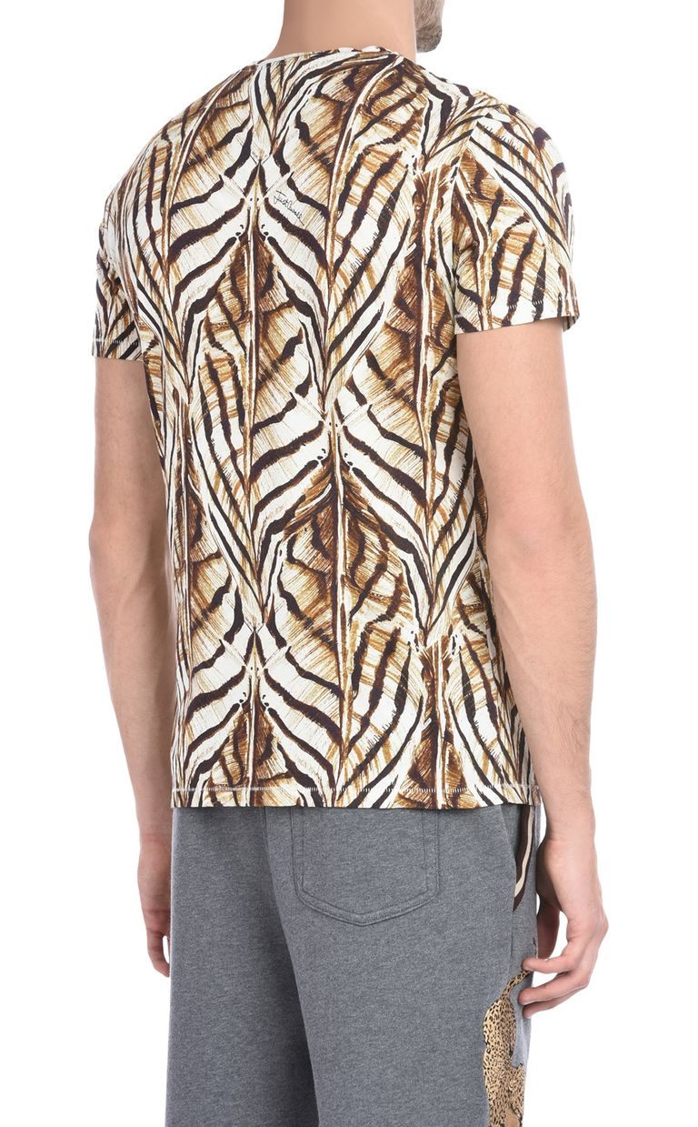 JUST CAVALLI Short-sleeved print-design T-shirt Short sleeve t-shirt U d