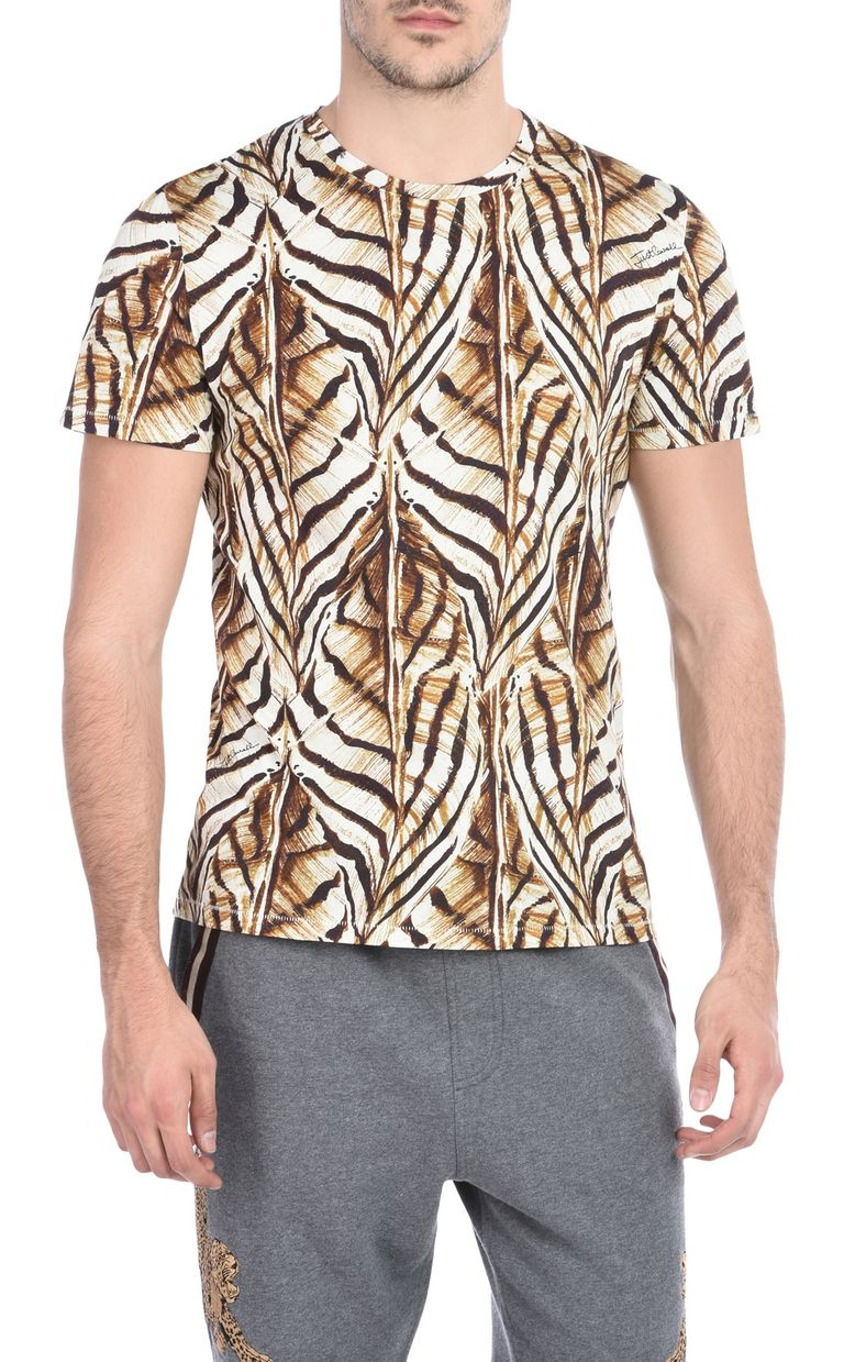 JUST CAVALLI Short-sleeved print-design T-shirt Short sleeve t-shirt U f