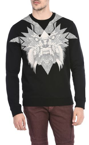 JUST CAVALLI Sweatshirt U Hooded sweatshirt with print design f