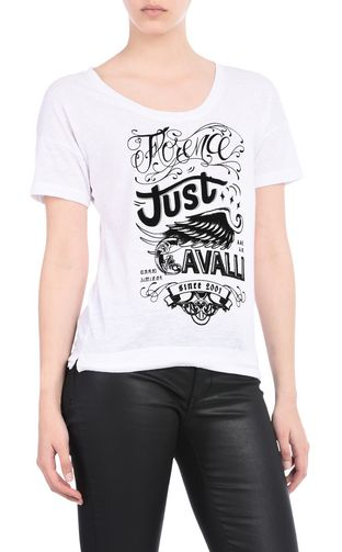 JUST CAVALLI Short sleeve t-shirt D Crew-neck T-shirt f