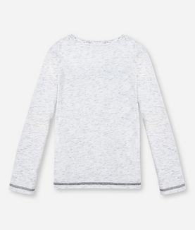KARL LAGERFELD LONG SLEEVE T-SHIRT #KARL