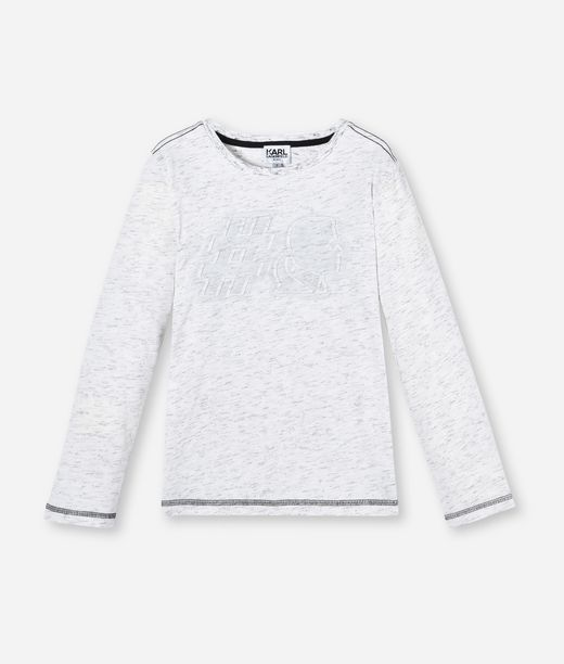 KARL LAGERFELD LONG SLEEVE T-SHIRT #KARL 12_f