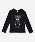 KARL LAGERFELD CHOUPETTE COCKTAIL T-SHIRT 8_f